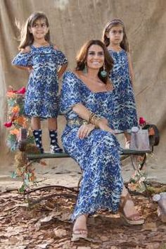 Giovanna Antonelli estrela campanha de moda com as filhas gêmeas, Antônia e Sofia. Confira as fotos! - Divulgação, Leader