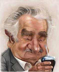 Pepe Mujica por Maxi Rodríguez