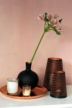 kalklitir antique rosa - färgen till Isabelles rum