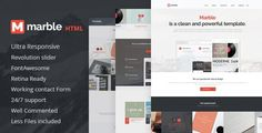 ThemeForest - Marble - Multipurpose HTML Template  Free Download
