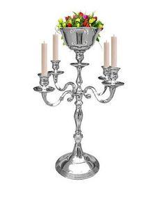 5 Arm Silver Candelabras Vase Candle Holders Chandelier Wedding Centerpiece 51CM #SIMCSHANDICRAFTS #ArtDecoStyle