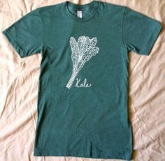 Kale TShirt by KitchenInk
