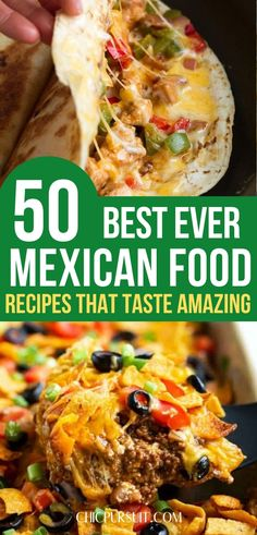 The best Mexican food recipes easy dinners: traditional Mexican food recipes authentic Hispanic kitchen. Looking for delicious Mexican food recipes healthy, Mexican food recipes authentic Mexico or ev Healthy Mexican Recipes, Mexican Dessert Recipes, Mexican Chicken Recipes, Mexican Dishes, Beef Recipes, Chayote Recipes, Mexican Shrimp, Shrimp Recipes, Fish Recipes