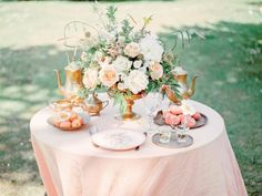 My Honeybee – Peach Inspired wedding ideas / tablescapes