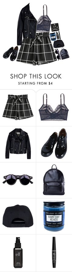 """""""better off (dying)"""" by corruptedcolours ❤ liked on Polyvore featuring Kiki de Montparnasse, Golden Goose, Comme des Garçons, Asya Malbershtein, Old Navy, NYX and Topshop"""
