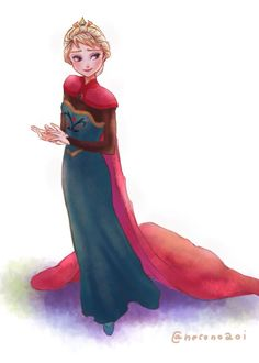 Elsa from Frozen Frozen Elsa And Anna, Disney Frozen Elsa, Disney Xd, Olaf Frozen, Disney Fan Art, Disney And Dreamworks, Disney Pixar, Disney Characters, Elsa Anna