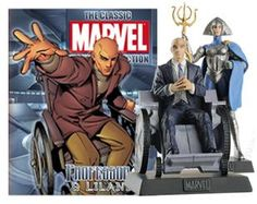 Marvel Figurines - Professor X, Lilandra
