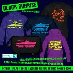 Black Sunrise, volantino. T-shirt, felpe e accessori. https://www.facebook.com/blacksunriseextremeclothing http://blacksunriseexxxtreme.spreadshirt.it/