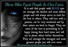 Blue Eyed People