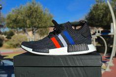 a3313b6e5e614 Adidas NMD R1 PrimeKnit (Tricolor Black)