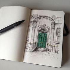 #art #drawing #pen #sketch #illustration #quicksketch #architecture #somewhereinlondon