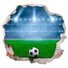 Vinilos de pared campo de fútbol 3d Soccer Backgrounds, Soccer Art, Tobias, Woodworking Projects Plans, Art Sketches, Kids Room, Balloons, Pastel, Outdoor Decor