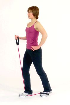 Glute Exercise with the Exercise Tube