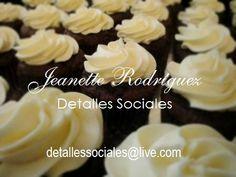 Cupcakes de Chocolate & Betún Queso Crema
