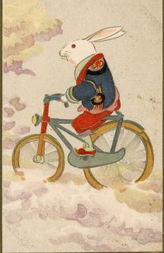 年代別に見る年賀状 Rabbit Illustration, Illustration Art, Chinoiserie Wallpaper, Rabbit Art, Bunny Art, Korean Art, Japanese Painting, Traditional Paintings, Japanese Prints
