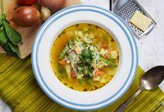 Zöldbabos minestrone