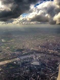 Amazing view of London