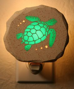 Green Sea Turtle by neonlithics on Etsy, $18.00