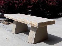 » Stone Bench Natural Rock Designs