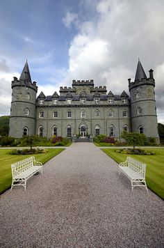 Inveraray Castle, Scotland (Downton Abbey Highlands film location)