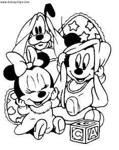 30 baby mickey mouse coloring pages cartoons printable coloring