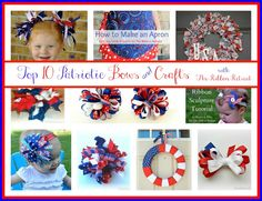 Top 10 Patriotic Bows & Crafts - The Ribbon Retreat Blog
