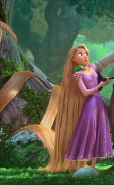 Day 13:  Rapunzel's dress..I am not much of one for dresses but hers is GORGEOUS!!!!!  And 2nd would be Merida's green dress..