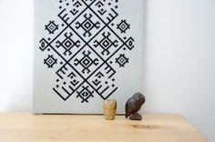 Ethno Pattern PDF CHART Modern Cross Stitch by FireplaceHobby