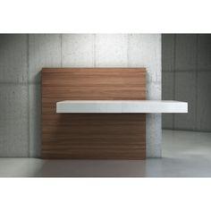 Schlichtes Schreibtisch Design Mit Schwebe Effekt | Tische | Pinterest | Schreibtisch  Selber Bauen, Schreibtische Und Selber Bauen