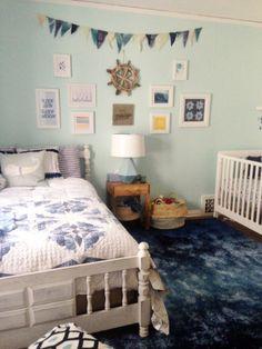 Nursery Peek and a Lulu & Georgia Giveaway | Oh Lovely Day #ohlovelydayluluandgeorgiagiveaway #giveaway #nursery #calicoolnauticalnursery