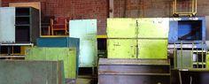 Vintage industrial metal cabinets - Imperial Fox
