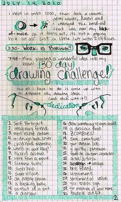 drawing challenge