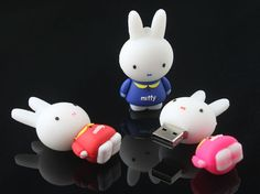 Home: Ten Totally Cute USB Flash Drives  (via Miffy USB Flash Drive )