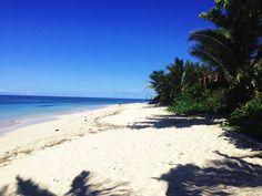Praia em Fiji