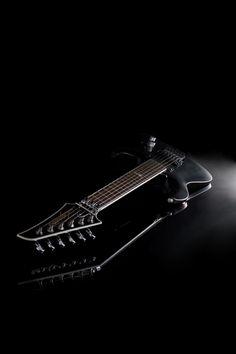 Ninja 200 Series Guitar - Flat Black