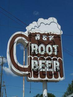 B&K Root Beer.
