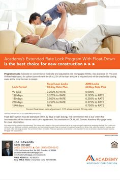 Academy Mortgage's 10% Down Jumbo Loan Program flyer. Loans up to $750,000 with 10% down may ...