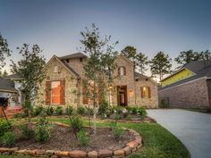 14 Sundown Ridge Place in The Woodlands Texas  New Ryland home