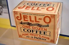 """The Jell-O Gallery is the only museum dedicated to """"America's Favorite Desert."""" It is located in Le Roy, the town where Jell-O was invented in 1897 and first produced."""