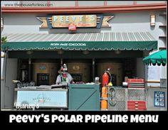 Peevy's Frozen Concoctions at Disney's Hollywood Studios #DisneyDining #WDW