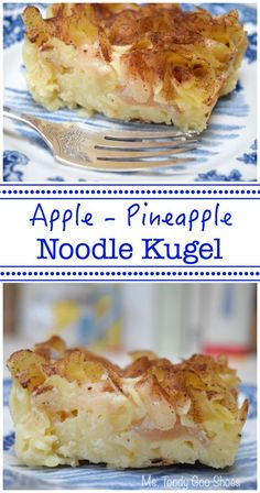 Noodle Kugel is so creamy you'd swear this dish has cream cheese ...