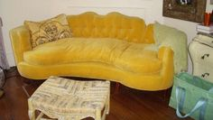 Good Questions: Marci's Marigold Couch