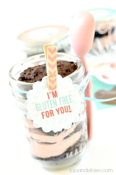 #glutenfree Glutino Brown Mix in a Jar with Free Printable jojoandeloise.com