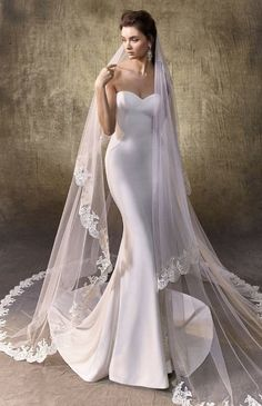 Courtesy of Enzoani Wedding Dresses #weddingdress