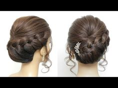 best=Bridal Updo Tutorial Wedding Hairstyles For Long Hair , Looking for that Perfect Prom Dress? Want to look amazing at the dance? Mother Of The Groom Hairstyles, All Hairstyles, Trending Hairstyles, Bridal Hairstyles, Formal Hairstyles, Easy Updos For Medium Hair, Medium Hair Styles, Short Hair Styles, Updo Tutorial