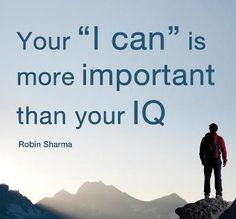 I CAn.....