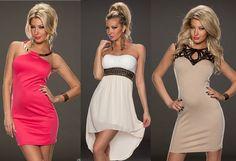 Rochii de seara ieftine - rochii bandage cu dantela si macrame Macrame, Strapless Dress, Dresses, Fashion, Strapless Gown, Vestidos, Moda, Fashion Styles, Dress