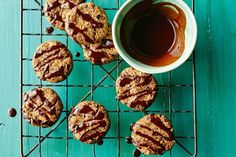 Hazelnut and fig cacao biscuits (vegan, gluten-free)