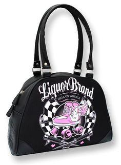 Handbags - Liquor Brand ~ HELL ON WHEELS Roller Derby Pinup Bowling Bag