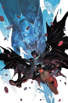 Batman and Zatanna by Yasmine Putri